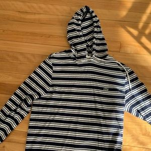 Lacoste long sleeve top with hoodie